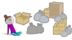 引っ越しに伴う多量のゴミ!!どこで処理すれば良い?