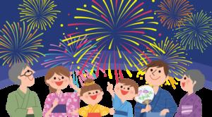 千曲川納涼花火大会を室内で観覧できる売中古マンション!!
